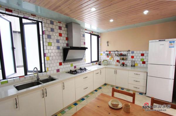 简约 三居 厨房图片来自用户2737786973在4.8万打造100平小清新日式阳光3居95的分享
