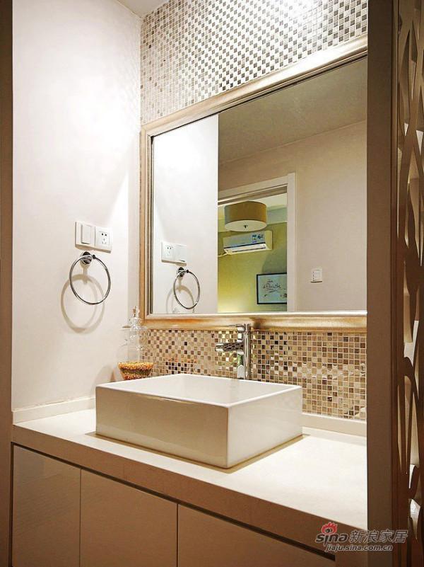 现代 三居 卫生间图片来自佰辰生活装饰在夫妻10万装98平简约品位家75的分享