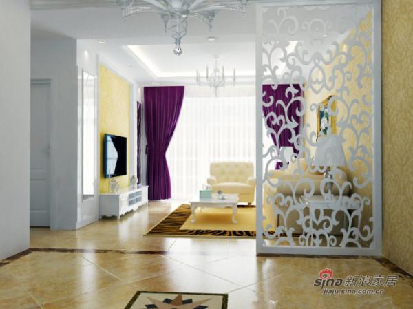 140平混搭风格装修案例/时尚华丽三居室