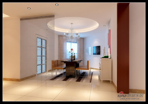 简约 三居 客厅图片来自用户2737735823在黑白红经典简约风格48的分享