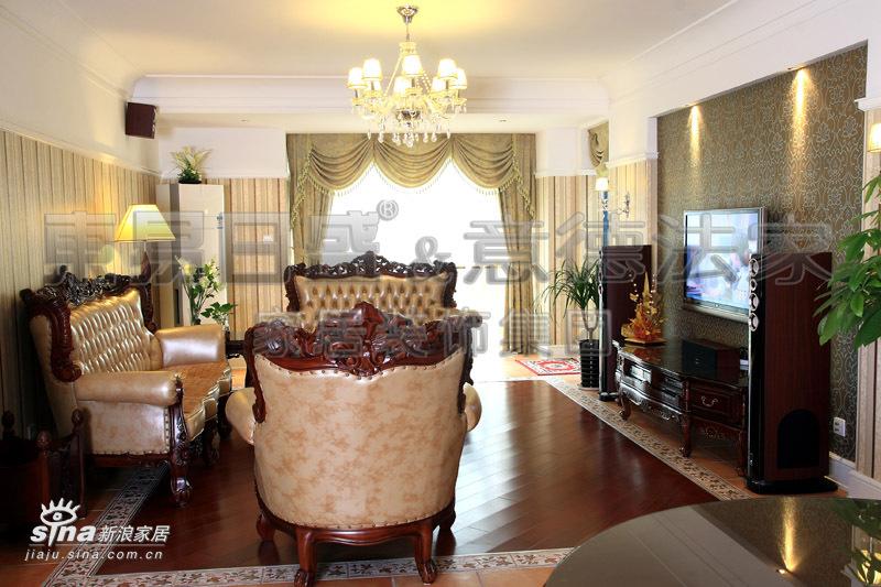 欧式 一居 客厅图片来自用户2557013183在领秀江南64的分享