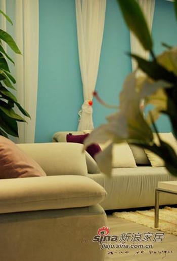 简约 二居 客厅图片来自用户2739378857在5万抠出小清新90平2居 美爆了68的分享