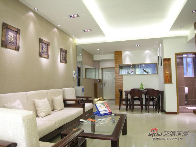 简约 二居 客厅图片来自用户2559456651在2.5万幸福90平婚房59的分享