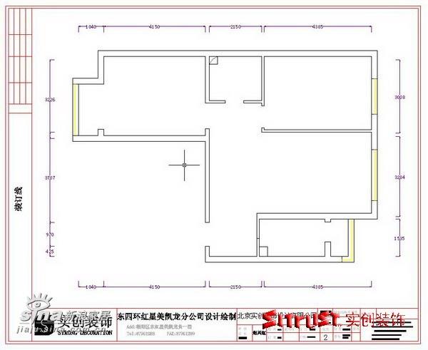 简约 二居 户型图图片来自用户2738820801在旗胜家园88平米G户型设计方案64的分享