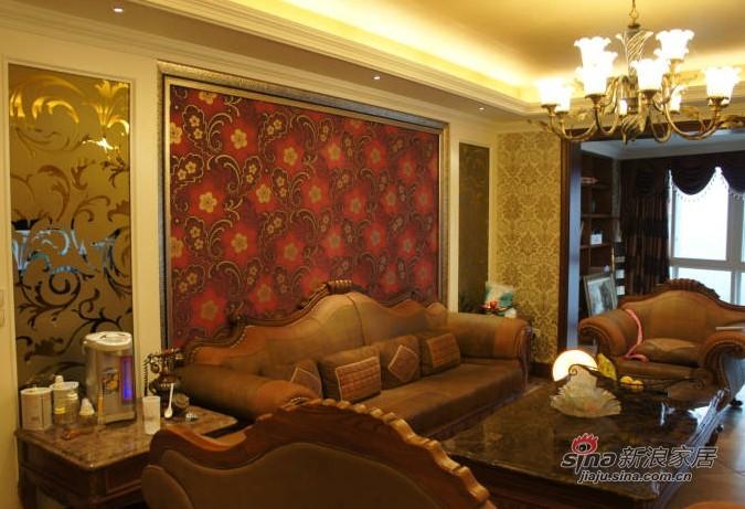 简约 三居 客厅图片来自用户2556216825在6万打造145平欧式风格新居75的分享