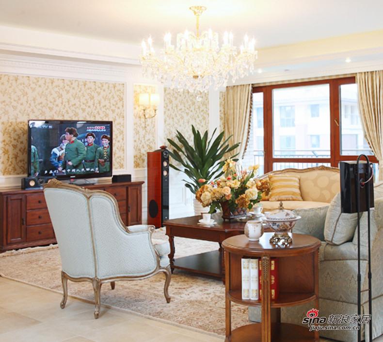 简约 三居 客厅图片来自用户2559456651在8.5万打造100平简约3居婚房48的分享