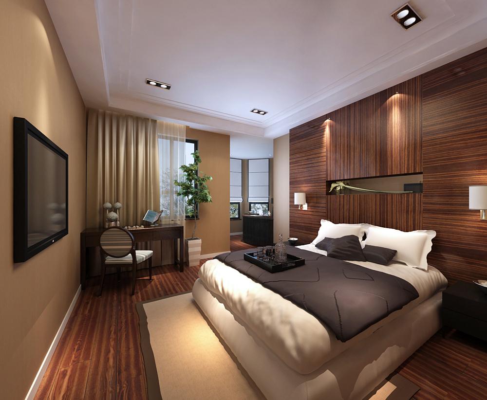 中式 三居 卧室图片来自用户1907696363在【高清】135平大气古朴素雅新中式75的分享