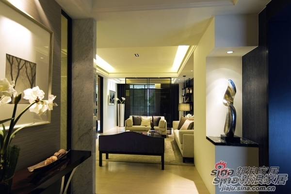 现代 三居 客厅图片来自用户1907684993在9.5万潮流125平大3居简约典雅风情85的分享