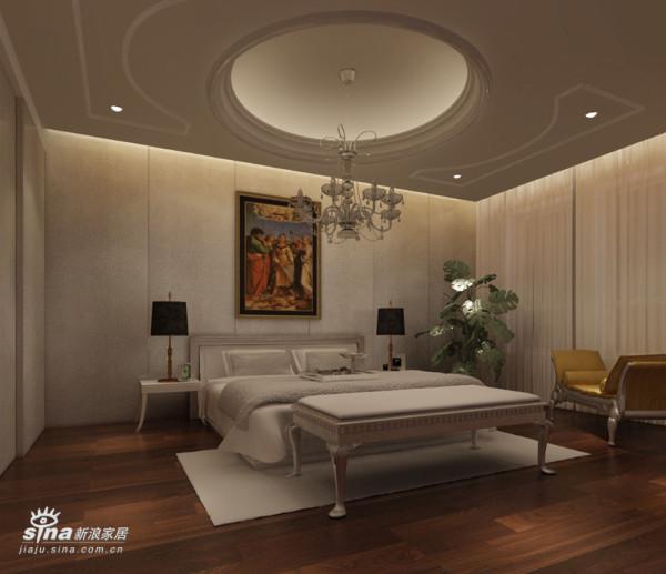 欧式 别墅 卧室图片来自用户2772856065在保利垄上33的分享