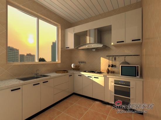 中式 二居 厨房图片来自用户1907658205在华丽精美中式古典风格41的分享
