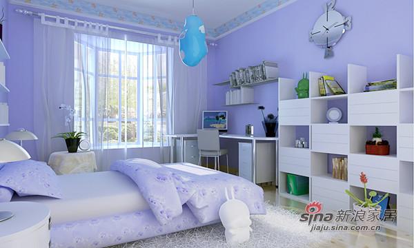 欧式 别墅 儿童房图片来自用户2746948411在43万简欧温哥华魅惑别墅95的分享