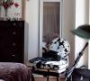 卧室的亮丽风景,有些欧洲的优雅和浪漫又像是电影场景的翻版