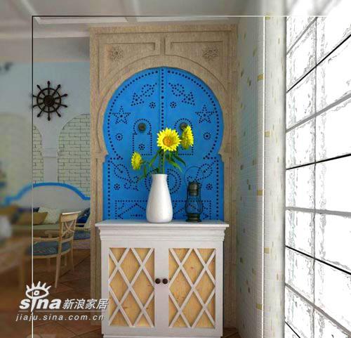 欧式 别墅 玄关图片来自用户2746953981在希腊风格的别墅设计18的分享