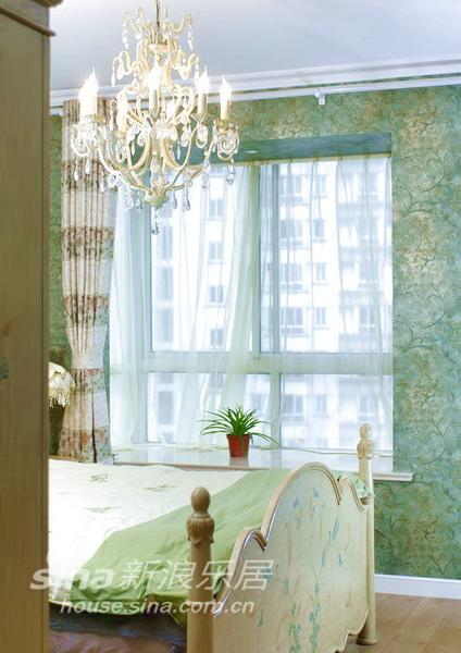 田园 三居 卧室图片来自用户2737946093在【实景】温馨舒适田园风格88的分享