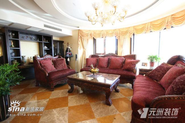 欧式 三居 客厅图片来自用户2746953981在山水文园76的分享