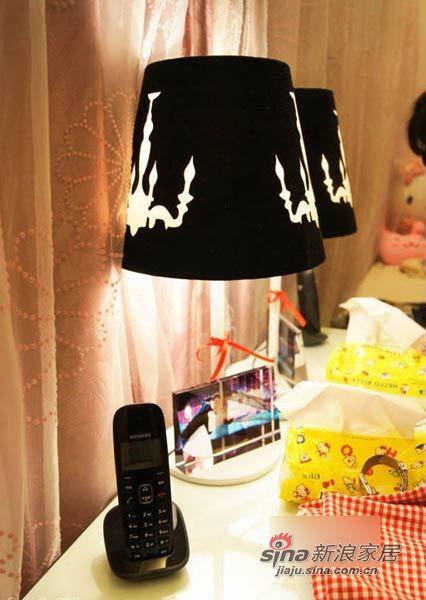 田园 二居 卧室图片来自用户2737791853在爱美MM自装67平粉嫩童话两居31的分享