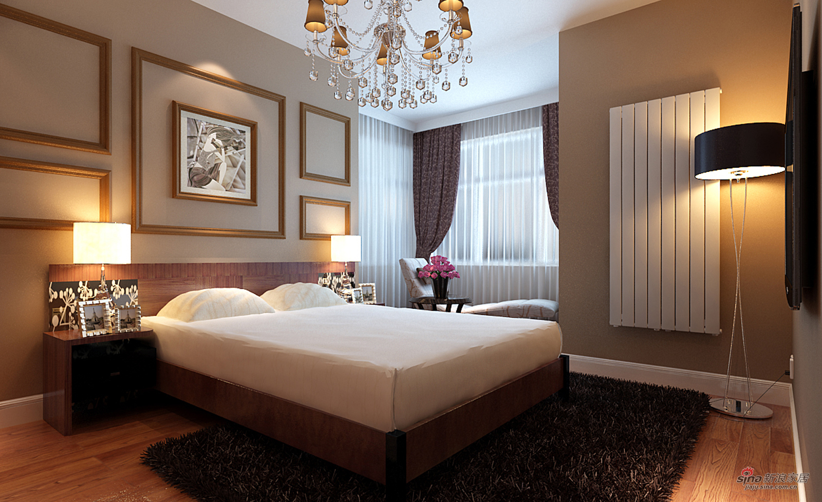 欧式 四居 卧室图片来自用户2745758987在我的专辑396919的分享