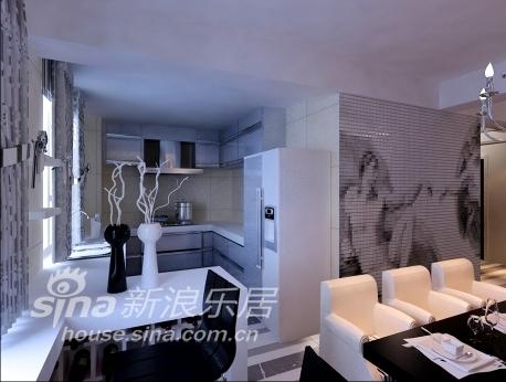 欧式 三居 厨房图片来自用户2757317061在万科城现代欧式风格94的分享