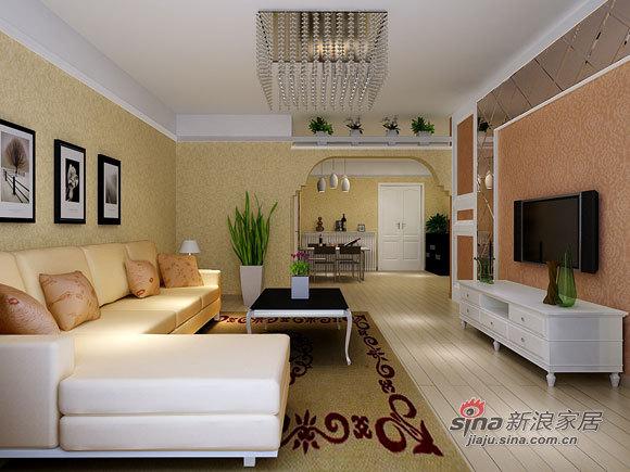 简约 三居 客厅图片来自用户2738820801在5万打造90平简约三口之家25的分享