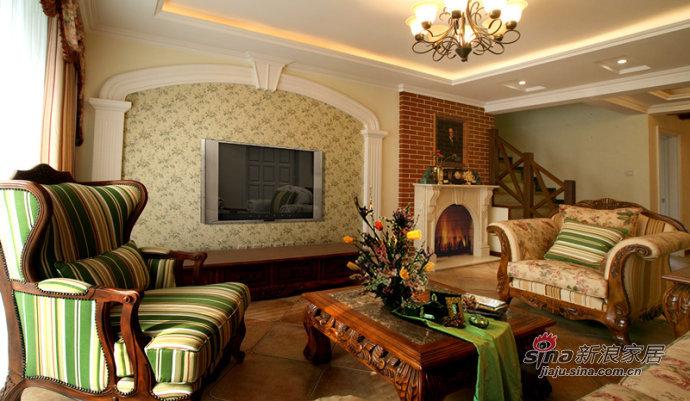 欧式 复式 客厅图片来自用户2745758987在【多图】复试奢华风20的分享