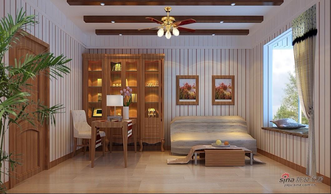 田园 二居 卧室图片来自用户2737946093在四合上院小区简欧田园2居室90的分享