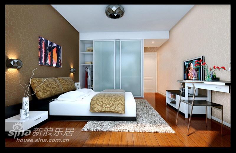 简约 四居 卧室图片来自用户2739378857在时尚简约17的分享