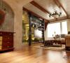 华润中央公园98㎡-两室两厅-田园风格14