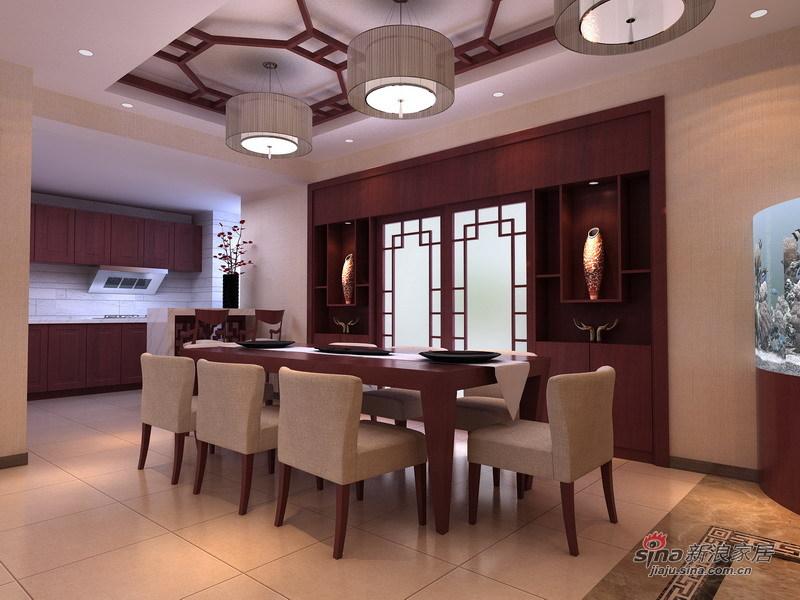 简约 一居 餐厅图片来自用户2737950087在15万装260平悠然新中式4居38的分享
