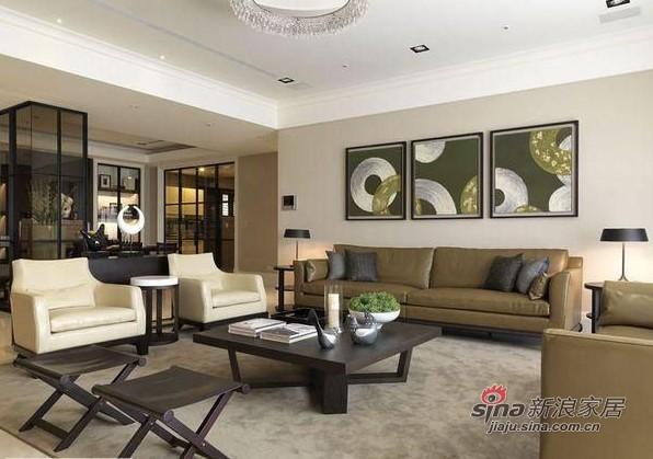 中式 三居 客厅图片来自用户1907662981在150平方米新中式私家别院74的分享