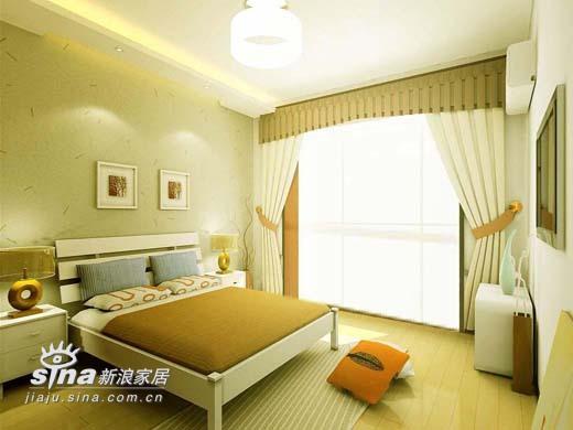 简约 二居 卧室图片来自用户2739153147在鼎立水岸别样设计22的分享