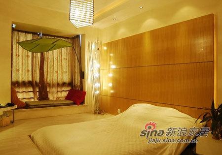 简约 三居 卧室图片来自用户2739153147在5.4万半包打造甜蜜新居简约3房56的分享