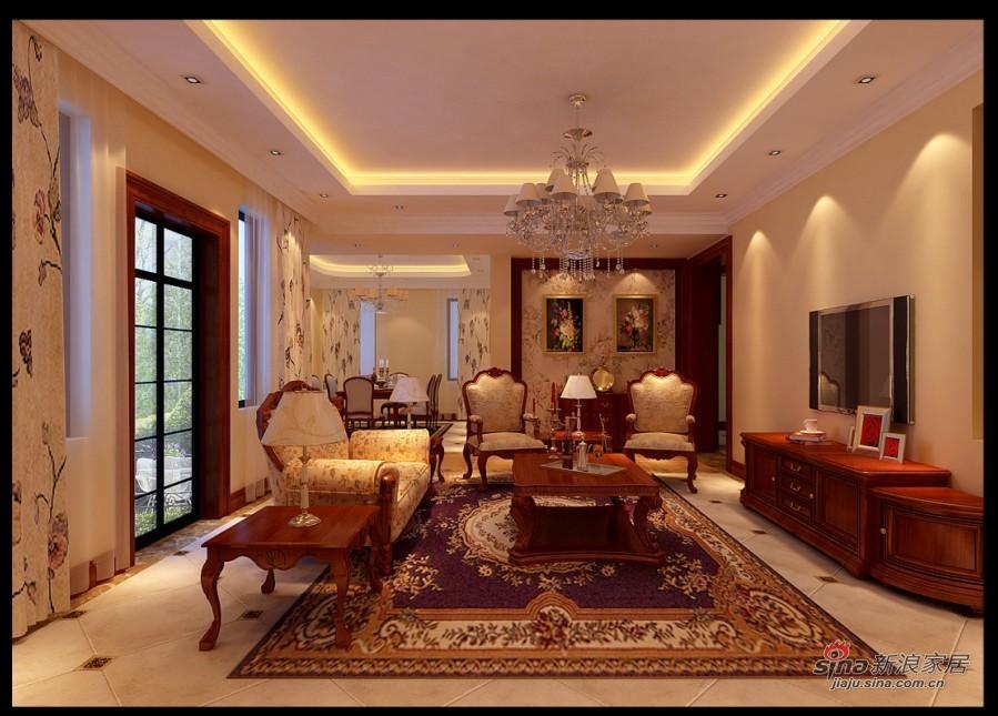 其他 别墅 客厅图片来自用户2737948467在打造孔雀城魅惑的古典主义美58的分享