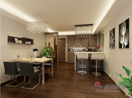 简约 二居 餐厅图片来自用户2737759857在109平米简约舒适2居室14的分享