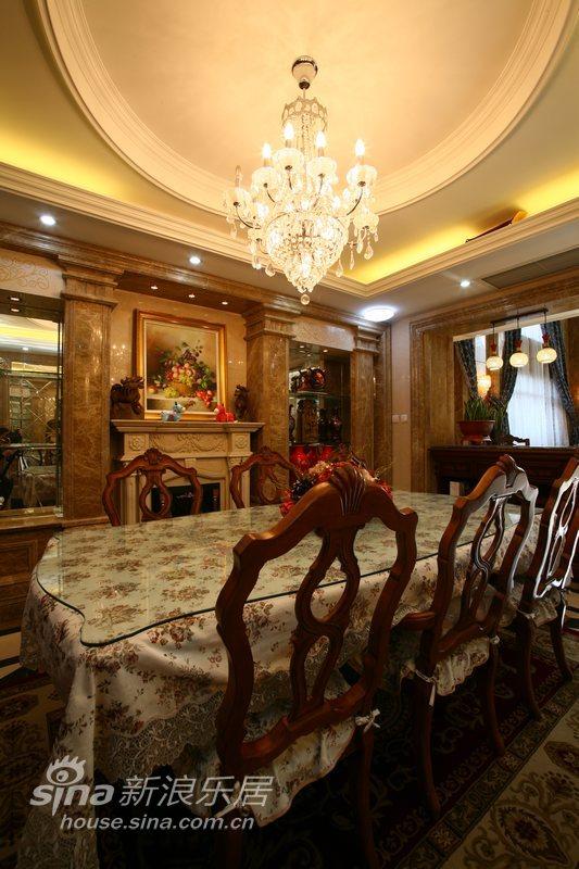 欧式 复式 餐厅图片来自用户2745758987在有内涵的豪宅50的分享