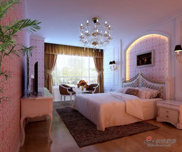 高贵大气欧式卧室设计