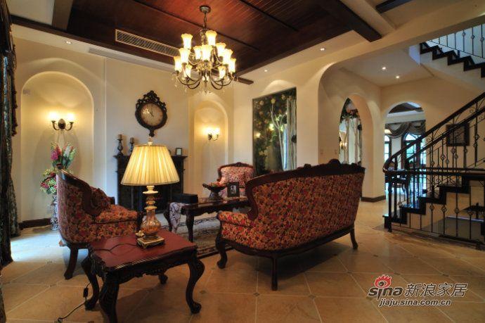 简约 一居 客厅图片来自用户2738820801在29万打造340平现代风格别墅37的分享