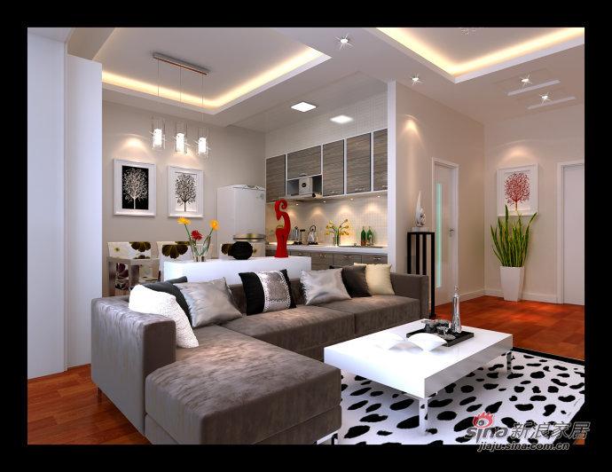 简约 二居 客厅图片来自用户2559456651在少即是多 5.9万营造莱茵都市现代感时尚之家61的分享