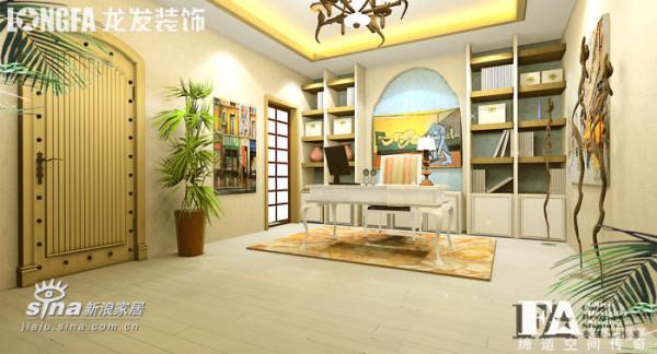 其他 别墅 书房图片来自用户2557963305在地中海风格-依云小镇27的分享