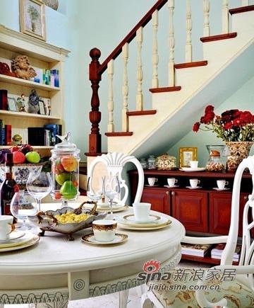 混搭 三居 餐厅图片来自用户1907655435在120平欧式复古混搭小户型公寓71的分享