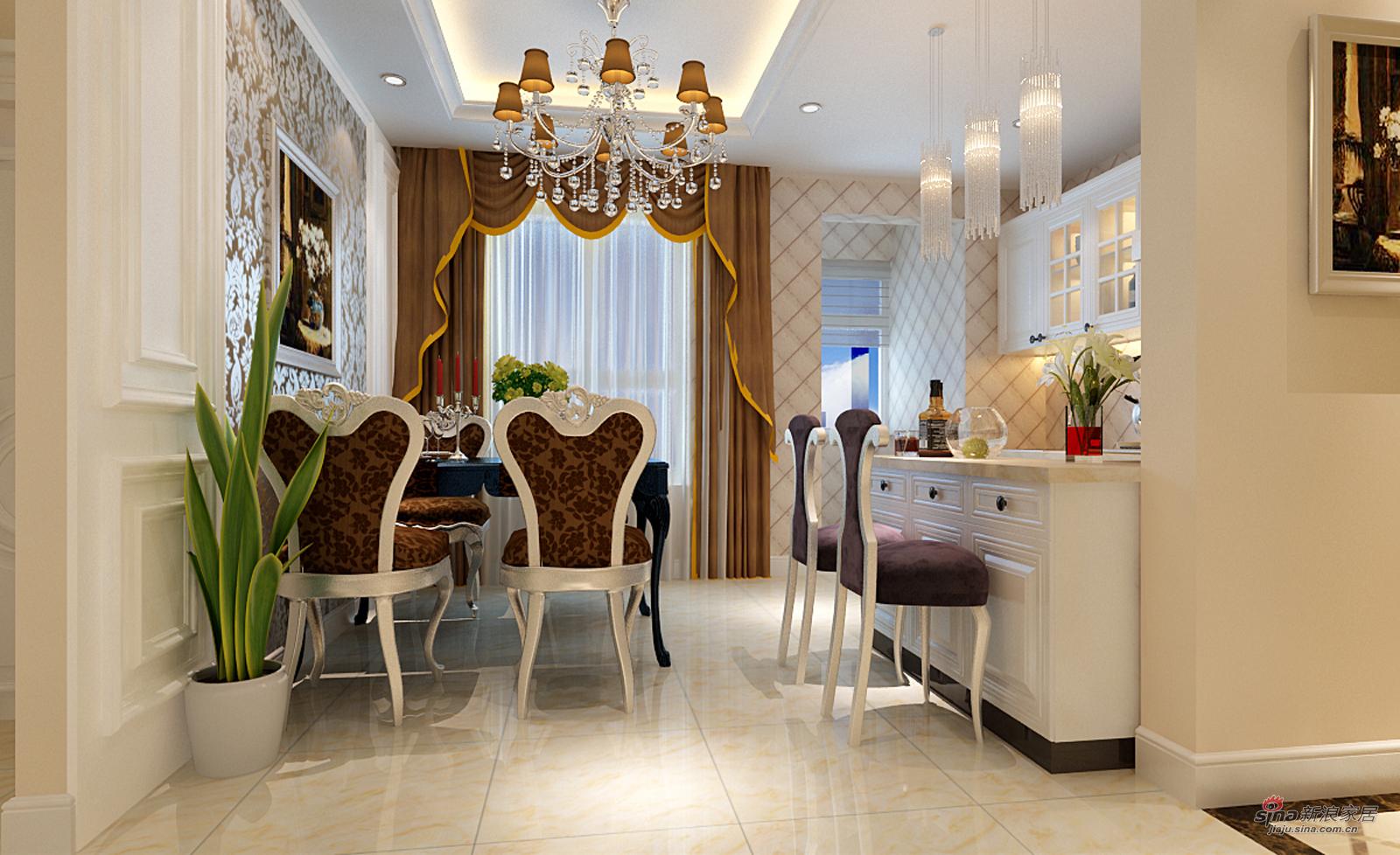欧式 三居 餐厅图片来自用户2757317061在熟女魅力之【欧式情节】33的分享