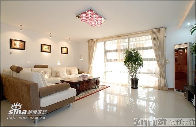 简约 四居 客厅图片来自用户2558728947在实创装饰远洋山水27的分享