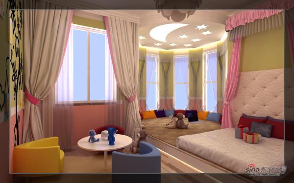 恒大绿洲-儿童房效果图