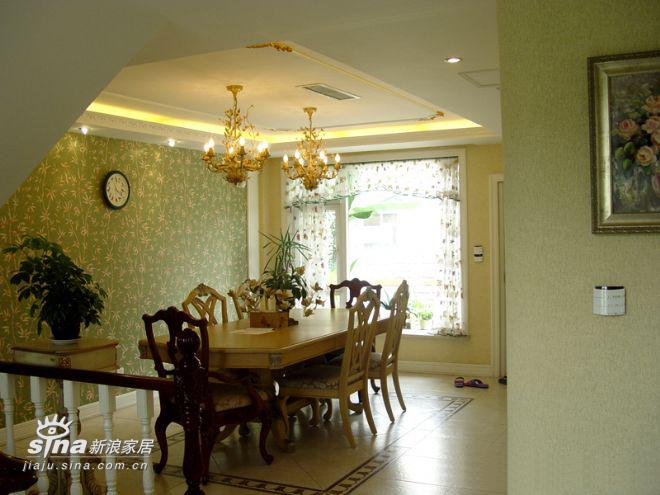 欧式 别墅 餐厅图片来自用户2746953981在某联体别墅14的分享