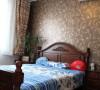 美式乡村风格次卧室