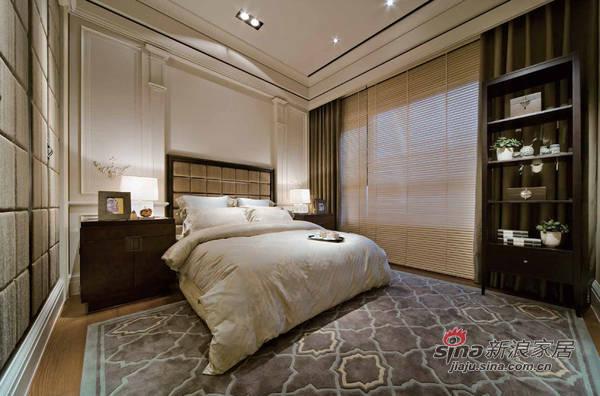 简约 三居 卧室图片来自用户2559456651在7万装180平现代简约家69的分享