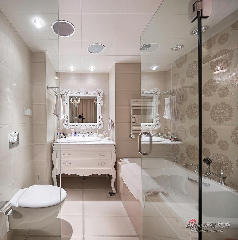 新古典 三居 卫生间图片来自装修微日记在【高清】155平新古典浪漫时尚3居65的分享