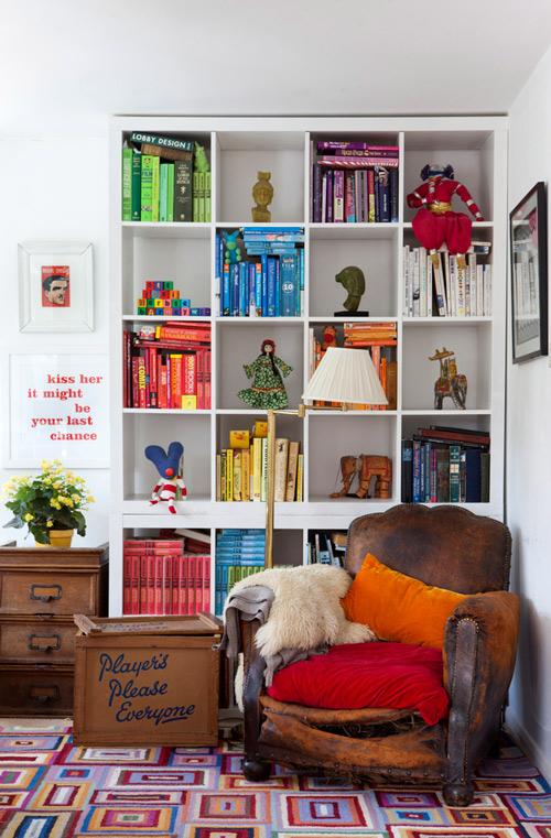 书房 糖果色 北欧图片来自用户2771736967在最受欢迎实用范 10个书房收纳装饰兼备的分享