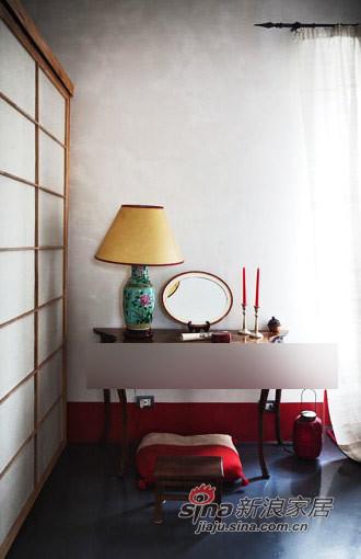 其他 三居 卧室图片来自用户2558746857在深灰与红--厚重浓郁的东方风格93的分享
