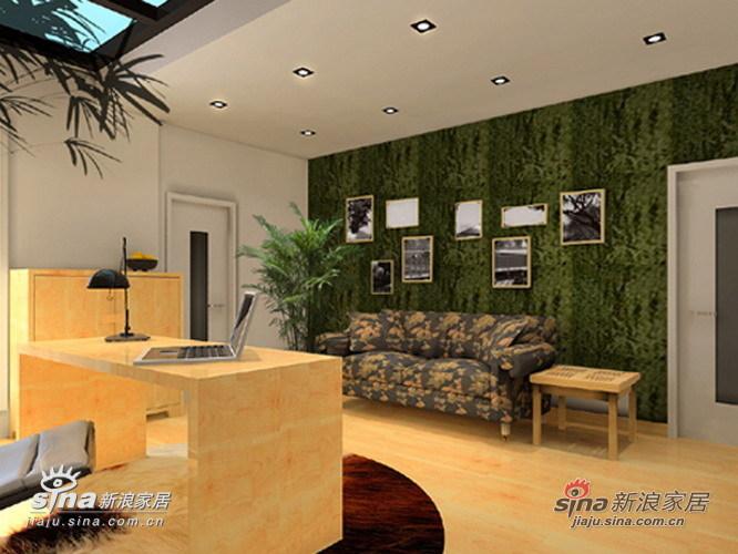 简约 复式 客厅图片来自用户2738813661在和谐自然的居室之美26的分享