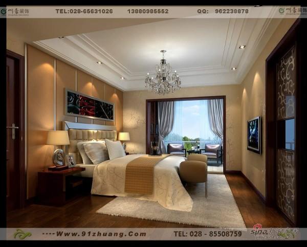 后现代风格卧室